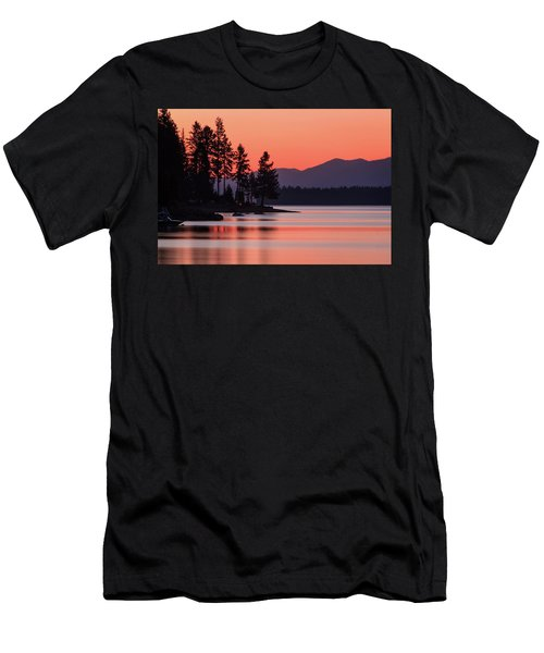 Lake Almanor Twilight Men's T-Shirt (Athletic Fit)