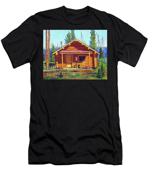 Lake Cabin Men's T-Shirt (Athletic Fit)