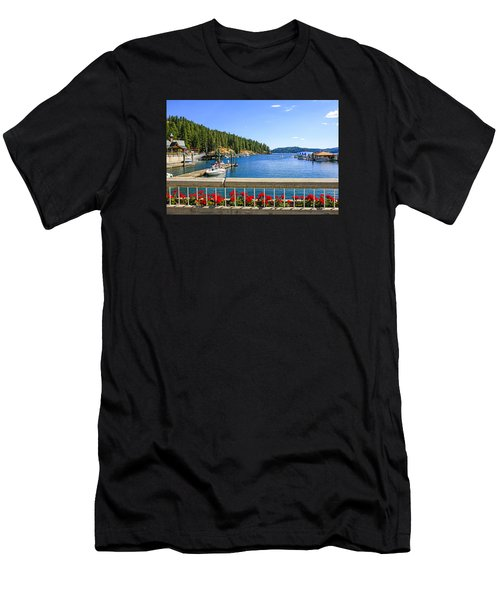 Lake Coeur D'alene Men's T-Shirt (Athletic Fit)