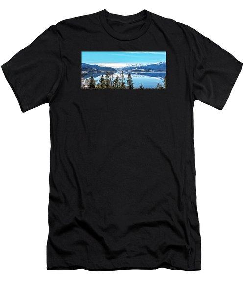 Lake Dillon Colorado Men's T-Shirt (Athletic Fit)