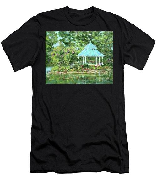 Lake Ella Gazebo Men's T-Shirt (Athletic Fit)