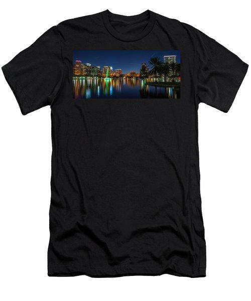 Lake Eola Orlando Men's T-Shirt (Athletic Fit)