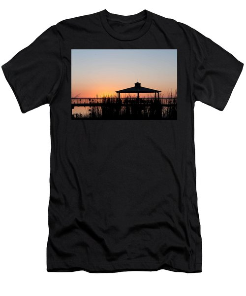 Lake Eustis Sunset Men's T-Shirt (Athletic Fit)