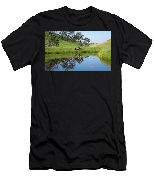 Lake Front Property Men's T-Shirt (Athletic Fit)