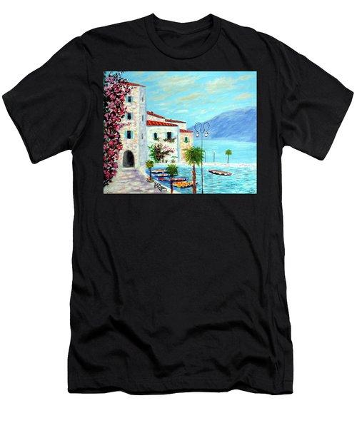 Lake Garda Bliss Men's T-Shirt (Athletic Fit)