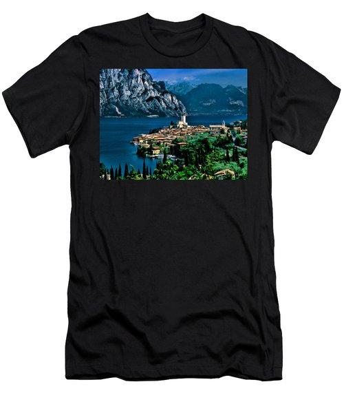 Lake Garda Men's T-Shirt (Athletic Fit)