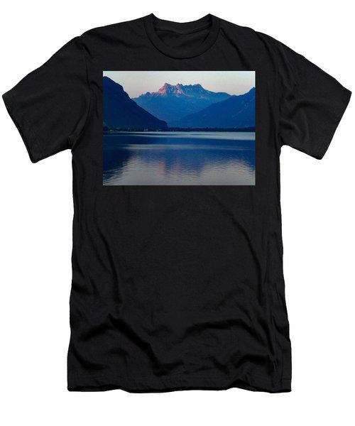 Lake Geneva, Switzerland Men's T-Shirt (Athletic Fit)