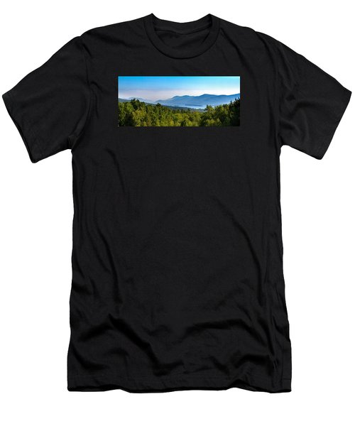Lake George, Ny And The Adirondack Mountains Men's T-Shirt (Athletic Fit)