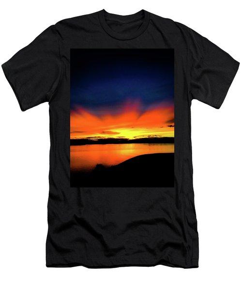 Lake Havasu Sunset Men's T-Shirt (Athletic Fit)