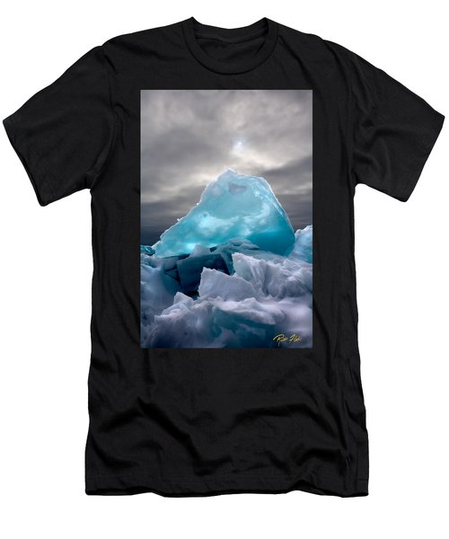 Lake Ice Berg Men's T-Shirt (Athletic Fit)