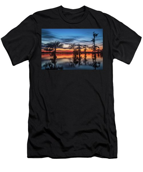 Lake Martin Sunset Men's T-Shirt (Athletic Fit)