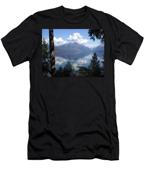 Lake Mcdonald Glacier National Park Men's T-Shirt (Athletic Fit)