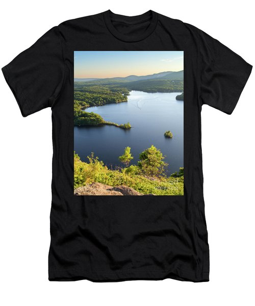 Lake Megunticook, Camden, Maine  -43960-43962 Men's T-Shirt (Athletic Fit)