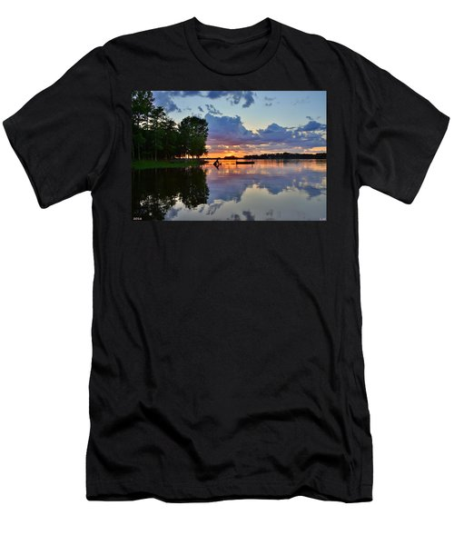 Lake Murray Sc Reflections Men's T-Shirt (Athletic Fit)