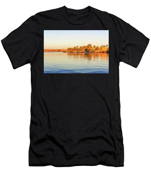 Lake Nasser In Abu Simbel Men's T-Shirt (Athletic Fit)