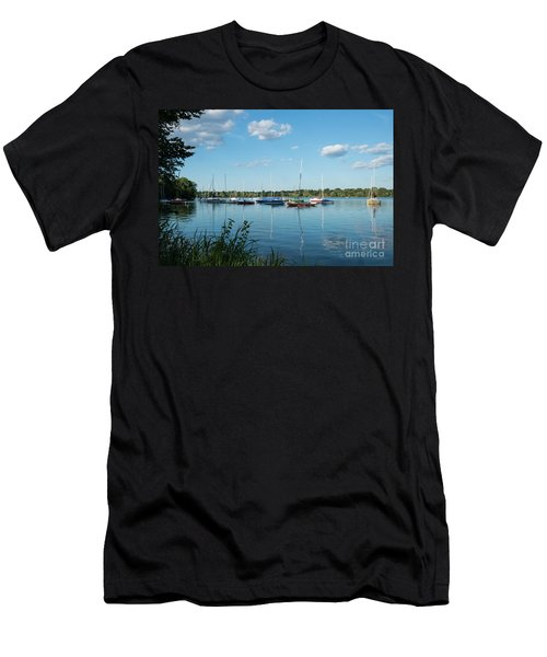 Lake Nokomis Minneapolis City Of Lakes Men's T-Shirt (Athletic Fit)