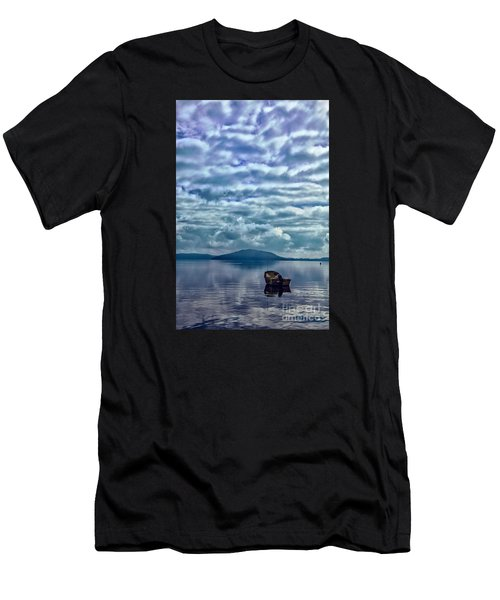 Lake Of Beauty Men's T-Shirt (Athletic Fit)