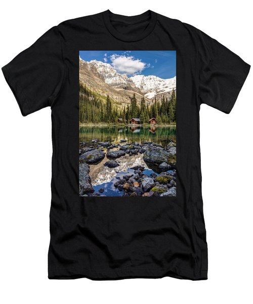 Lake O'hara Lodge Men's T-Shirt (Athletic Fit)
