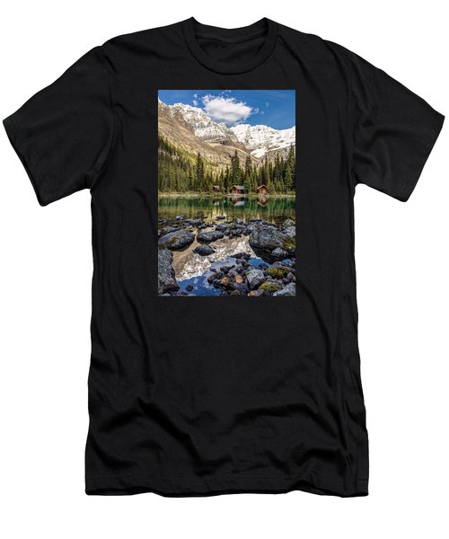 Lake O'hara Lodge Men's T-Shirt (Athletic Fit)