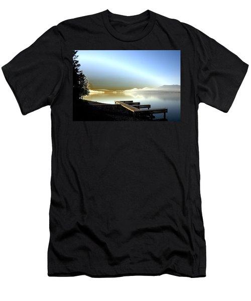 Lake Pend D'oreille Fantasy Men's T-Shirt (Athletic Fit)
