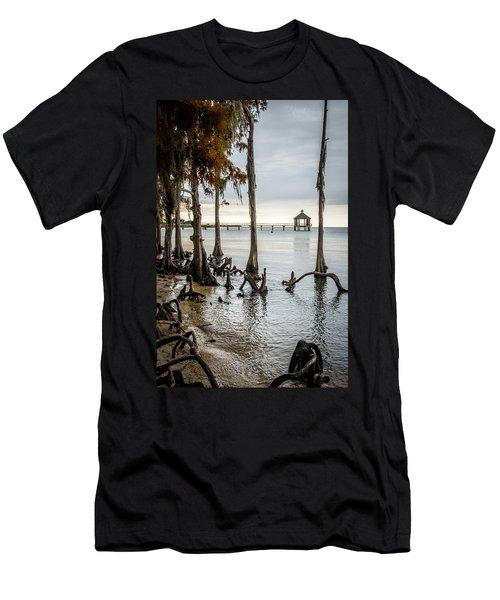 Lake Pontchartrain Uncropped Men's T-Shirt (Athletic Fit)
