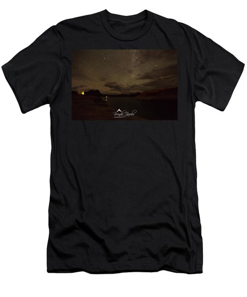Men's T-Shirt (Athletic Fit) featuring the photograph Lake Powell Stars by Brenda Jacobs
