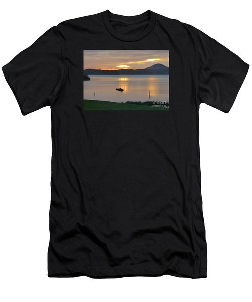 Lake Quinault Sunset - 2 Men's T-Shirt (Athletic Fit)