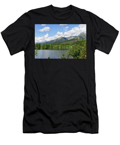 Lake Shtrbske  Men's T-Shirt (Athletic Fit)