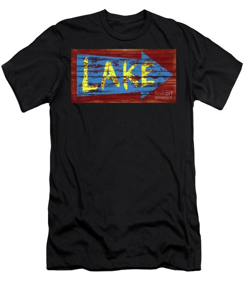 Lake Sign Men's T-Shirt (Athletic Fit)