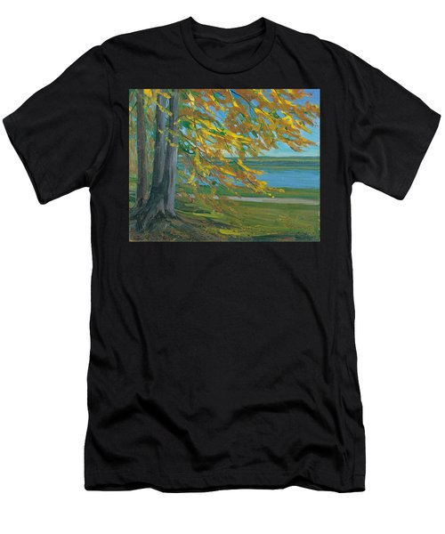 Lake Starnberger Men's T-Shirt (Athletic Fit)