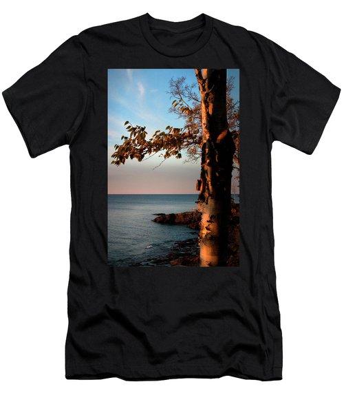 Lake Superior At Lutsen Men's T-Shirt (Athletic Fit)