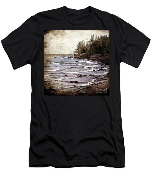 Lake Superior Waves Men's T-Shirt (Athletic Fit)