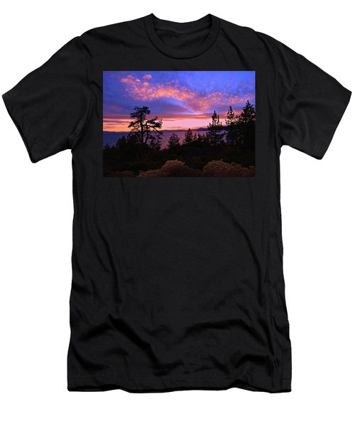 Lake Tahoe Crescendo Men's T-Shirt (Athletic Fit)