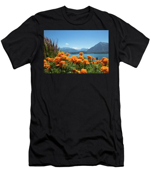 Lake Thunersee Men's T-Shirt (Athletic Fit)