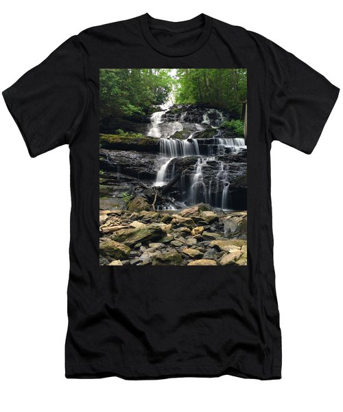 Lake Trahlyta Falls Men's T-Shirt (Athletic Fit)
