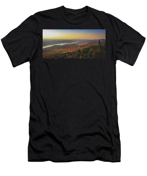 Lake Tremblant At Sunset Men's T-Shirt (Athletic Fit)
