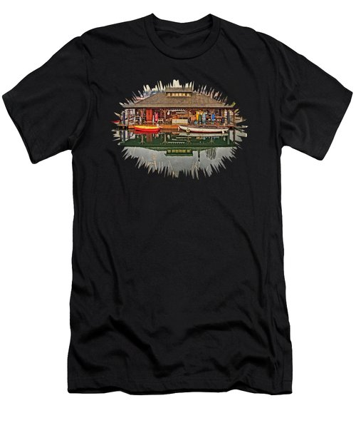 Center For Wooden Boats Men's T-Shirt (Athletic Fit)