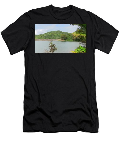 Lake View Men's T-Shirt (Athletic Fit)