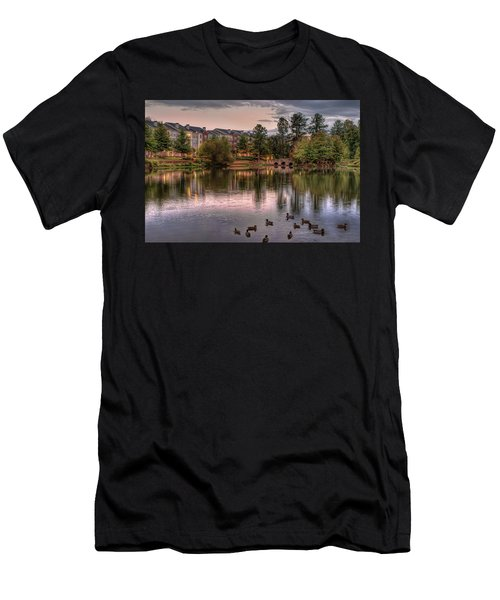 Lakeside At Milton Park Men's T-Shirt (Athletic Fit)