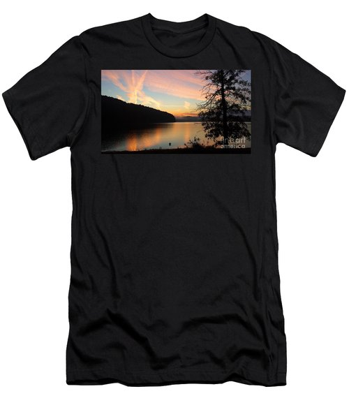 Lakeside Dreaming Men's T-Shirt (Athletic Fit)
