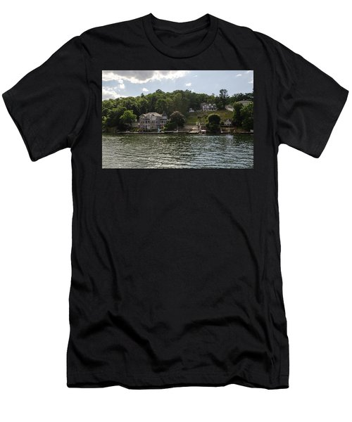 Lakeside Living Hopatcong Men's T-Shirt (Athletic Fit)