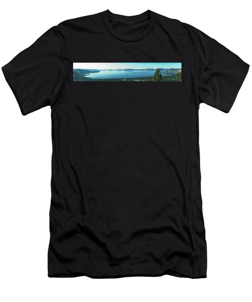 Laketahoe Panorama Men's T-Shirt (Athletic Fit)