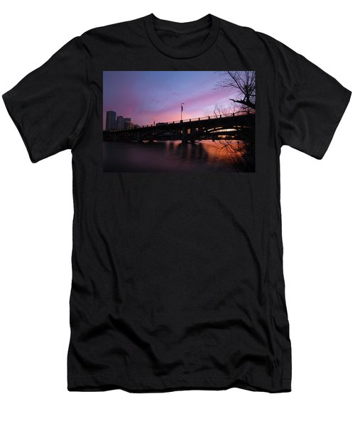 Lamar Blvd Bridge Men's T-Shirt (Athletic Fit)