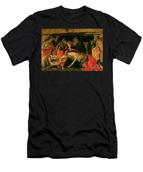 Lamentation Of Christ Men's T-Shirt (Athletic Fit)