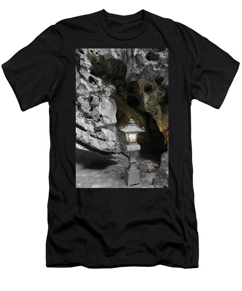 Lamp In Marble Mountain Men's T-Shirt (Athletic Fit)