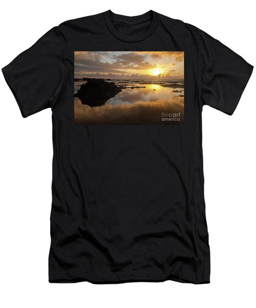 Lanai Sunset #1 Men's T-Shirt (Athletic Fit)