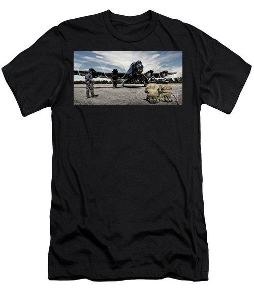 Lancaster Engine Test Men's T-Shirt (Athletic Fit)