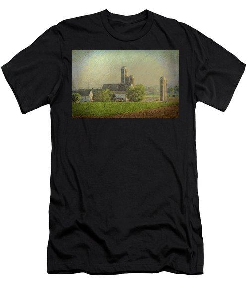 Lancaster Pennsylvania Farm Men's T-Shirt (Athletic Fit)