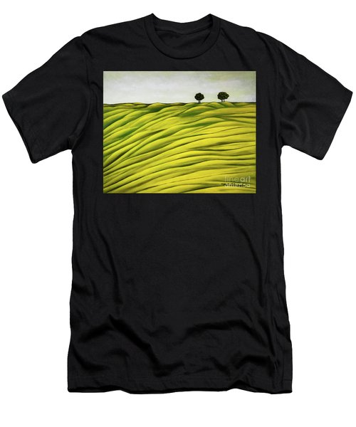 Land Of Breather Men's T-Shirt (Athletic Fit)