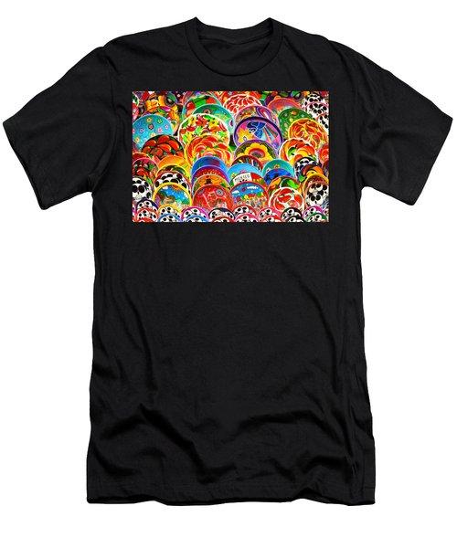 Land Of Brilliant Color Men's T-Shirt (Athletic Fit)